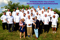 2015 McGarvey Family with Chefs 2