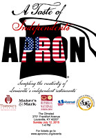Apron- A sampling of local restaurant creativity for a great cause